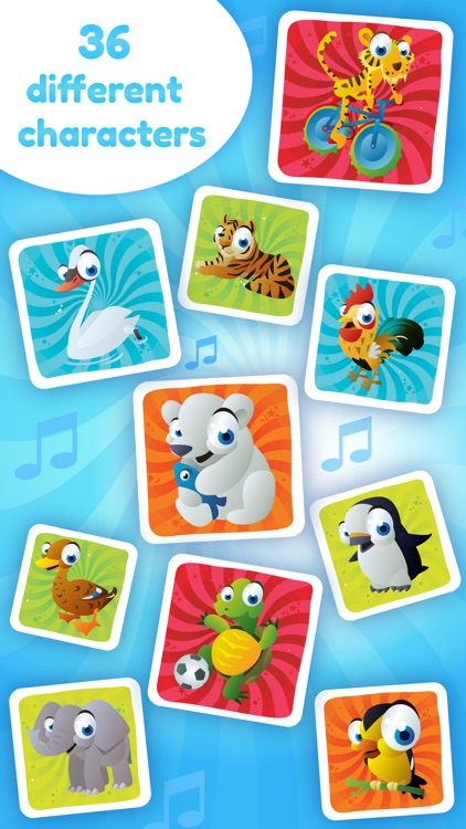 Baby Sounds Game - Learning Game for Kids (No Ads) screenshot-3