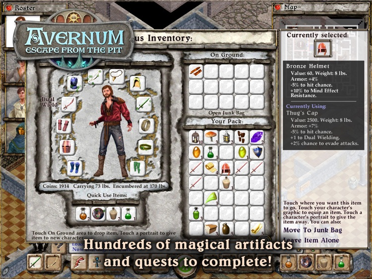 Avernum: Escape From the Pit HD screenshot-3