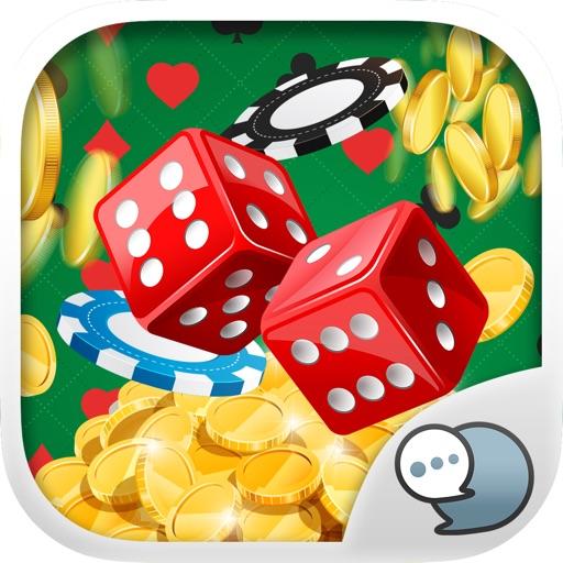 Casino Emoji Stickers Keyboard Themes ChatStick