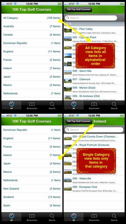 100 Top Golf Courses screenshot-4