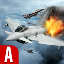 Modern Jet Air Strike Combat Shooter : Delta Force
