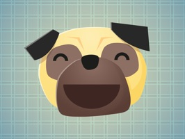 Pug Faces Stickers will make your chat more interesting and funny