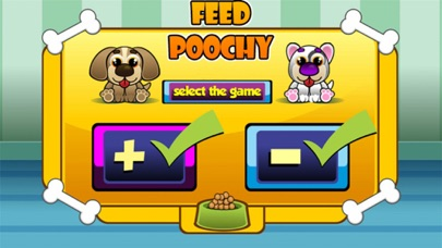 Feed Poochy Addition and Subtraction Game screenshot two