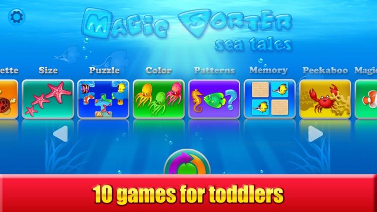 Magic Sorter: 10 learning games for toddlers, kids screenshot-0