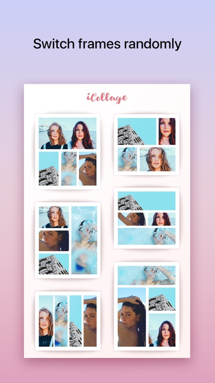 iCollage - The quickest photo collage maker app