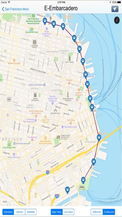 San Francisco Muni Transit California