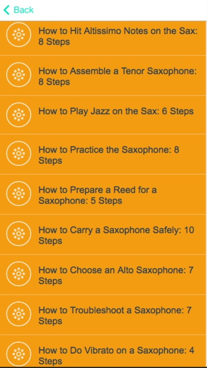 How to Play Saxophone - Lessons For Beginners screenshot-1