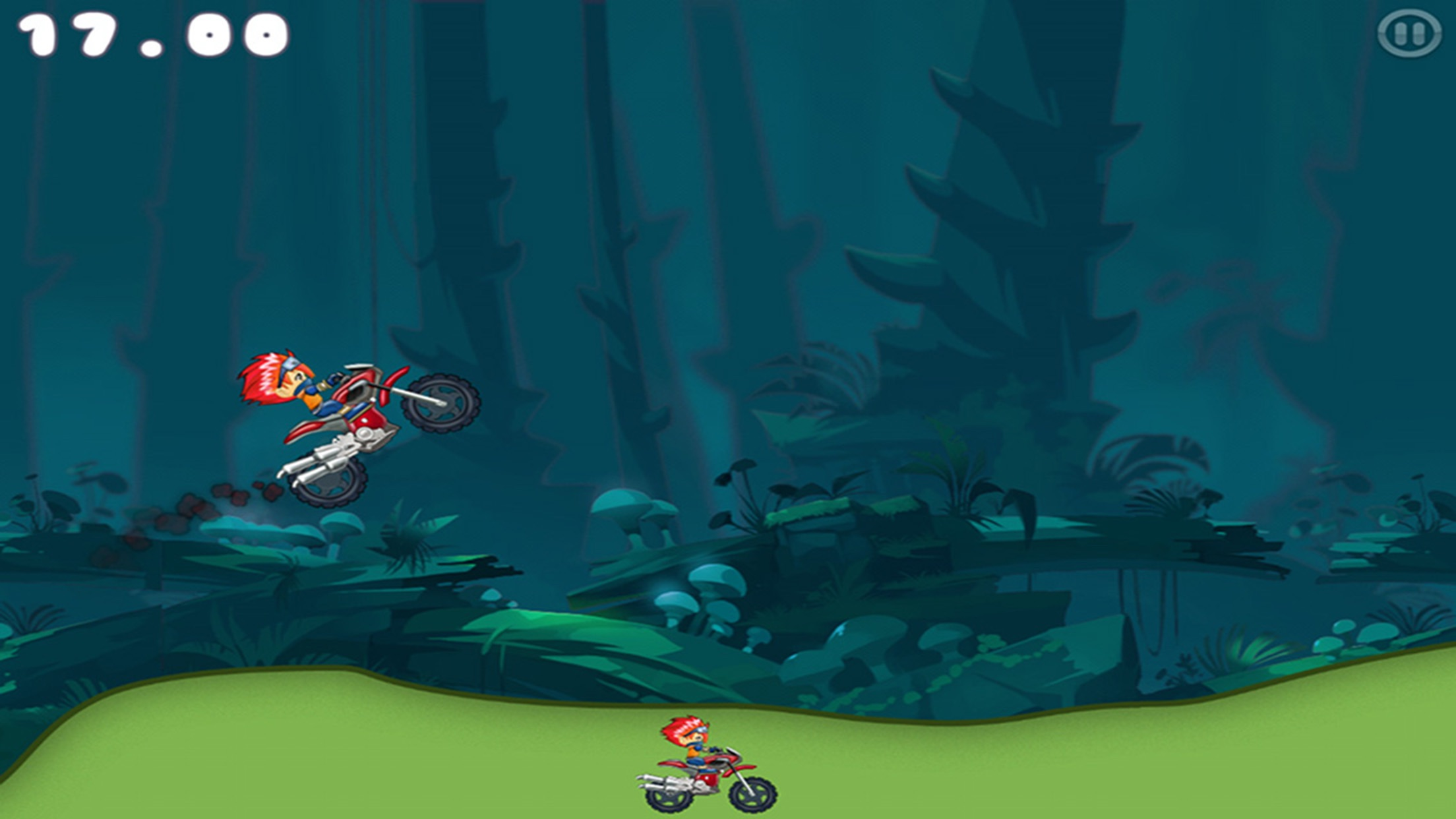 Super Hero Car Climb Racing Screenshot