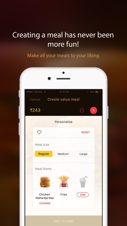 McDelivery India  west & south screenshot-3