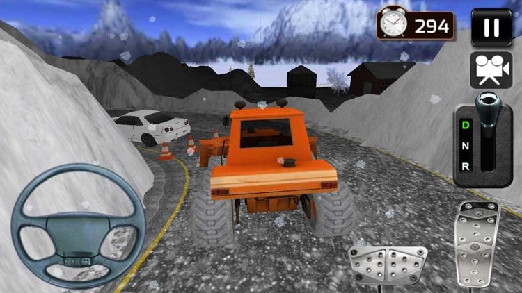 Snow Truck Driving Simulator screenshot-3