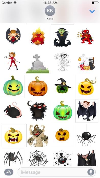 Halloween Stickers Spooky Edition screenshot three