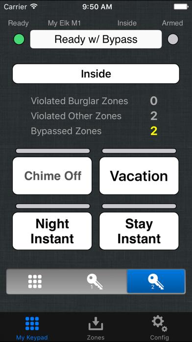 eKeypad Alarm screenshot four