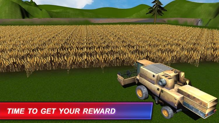 American Farm Simulator:Diesel Truck Harvest Crop