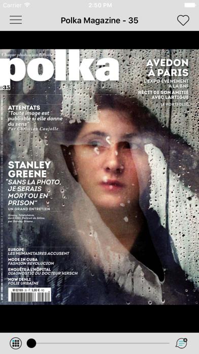 Polka, le magazine du photojournalisme sur iPad-capture-2