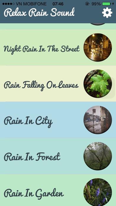 Relax Rain Sounds - Relaxing Sounds for Yoga screenshot two