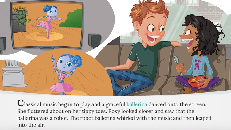 Roxy and the Ballerina Robot