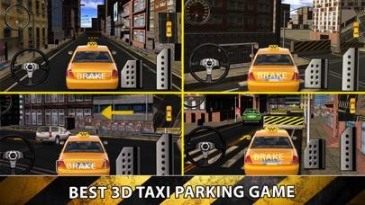 City Taxi Driver Sim 2016 - Yellow Cab Parking Maina in Las Vegas Real Traffic screenshot three