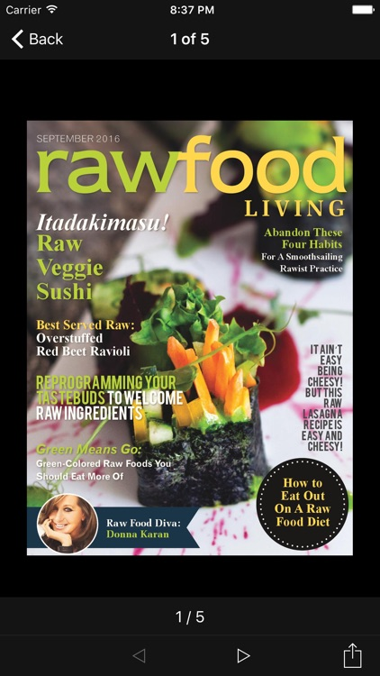 Raw Food Living Magazine