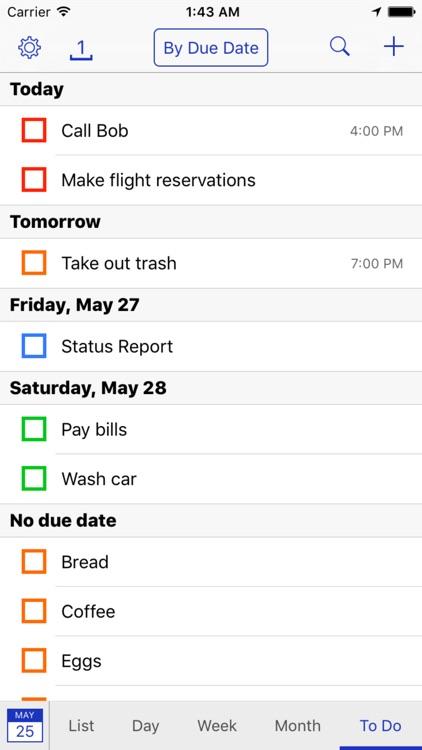 BusyCal - Calendar, Reminders & To Dos screenshot-3
