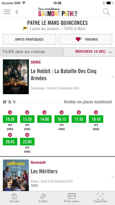 download Les cinémas Gaumont Pathé apps 4