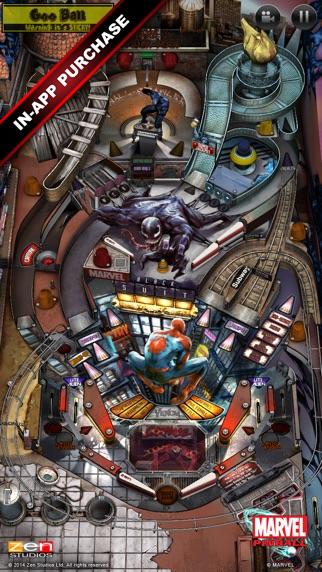 Marvel Pinball screenshot1