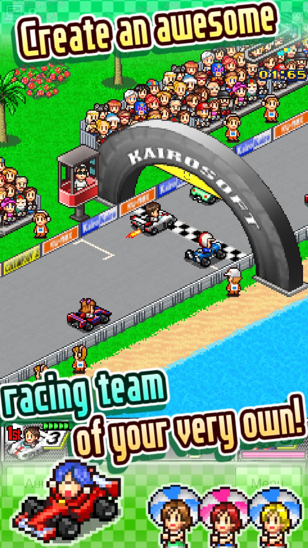 Screenshot do app Grand Prix Story