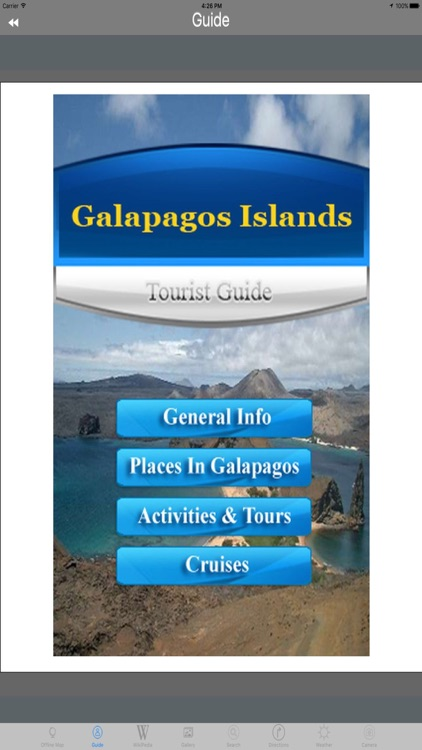 Galapagos Islands  Ecuador Tourist Travel Guide