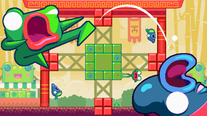 Screenshot from Green Ninja: Year of the Frog