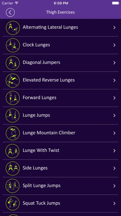 30 Day Thigh Fitness Challenges For Tight Booty screenshot-4