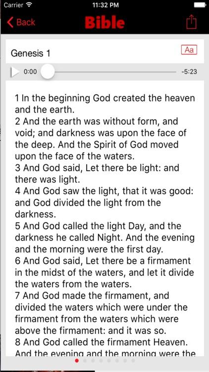King James Version Bible (Audio) screenshot-3
