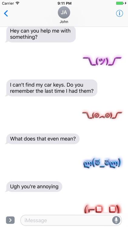 Neon Retro Emoji