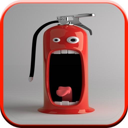 Fun Firefighter Games For Kids Free: siren sounds iOS App