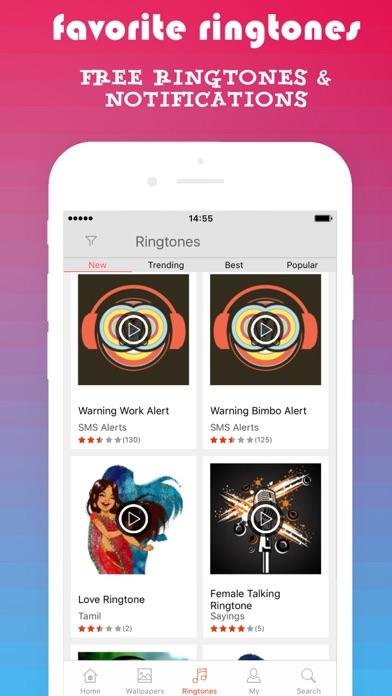 PHONEKY - Free iPhone Ringtones & Live Wallpapers screenshot two