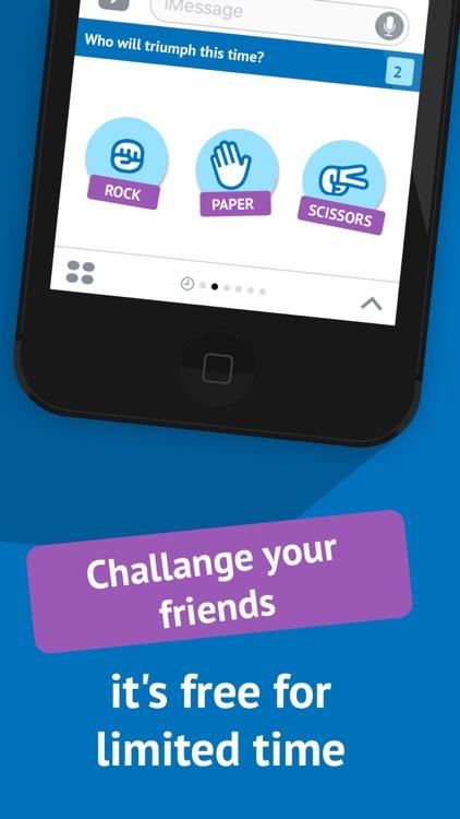 Rock paper scissors - best stickers game, free RPS screenshot-3