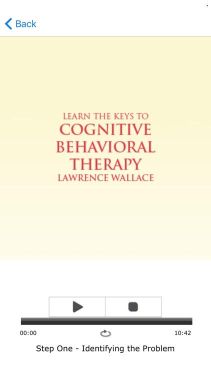 Cognitive Behavioral Therapy Meditation Audiobook screenshot-3