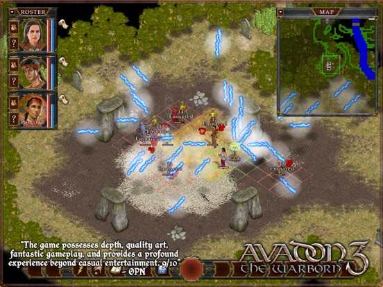 Screenshot #2 for Avadon 3: The Warborn HD