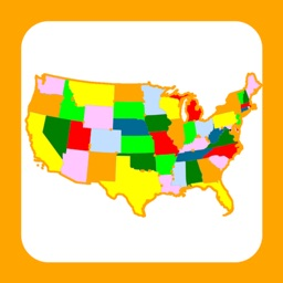 USA States & Capitals. 4 Type of Quiz & Games!!!