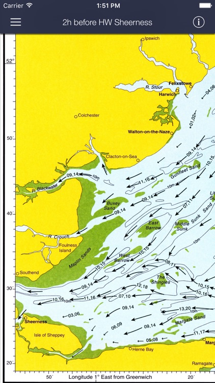 Tidal Stream Atlas, Thames Estuary screenshot-0