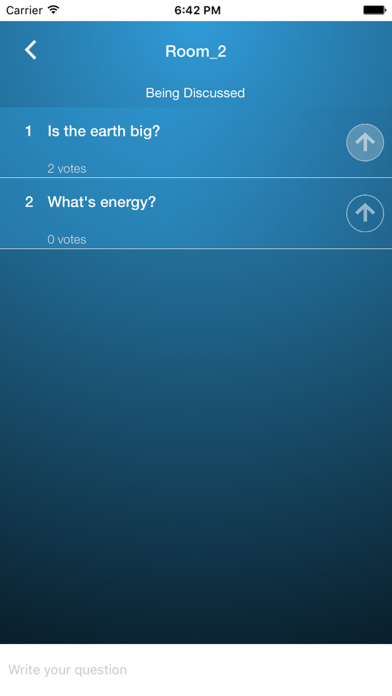 iAsk - Question Everything screenshot one