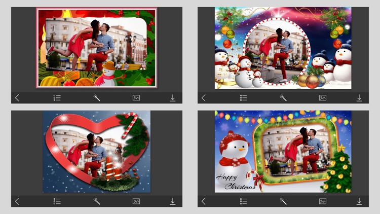 Creative Xmas Hd Photo Frames - Photo Lab by Vaghani Harshoben