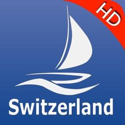 Switzerland Lakes GPS nautical charts Pro