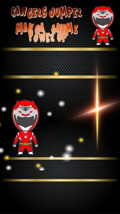 Rangers Jumper - Manga & Anime Power Up