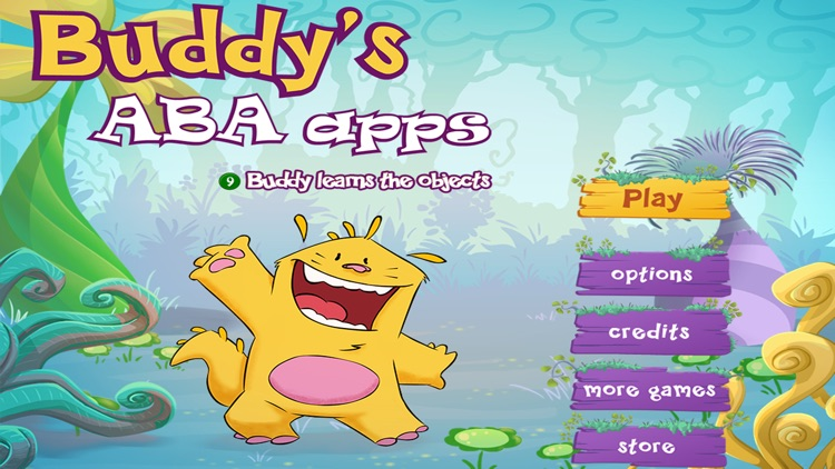 Learn the objects - Buddy's ABA Apps
