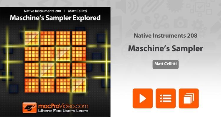 Course For NI Maschine's Sampler Explored