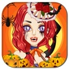 Halloween Girl DressUp  Monster Ghost MakeUp Kids