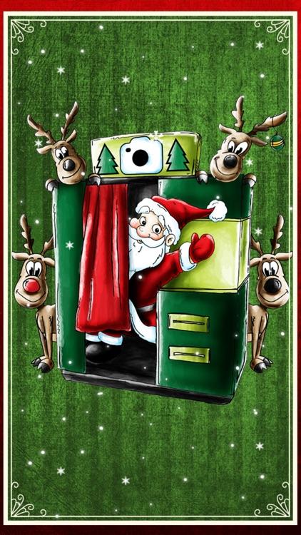Christmas Booth: Festive Photo Fun + Xmas Stickers screenshot-3