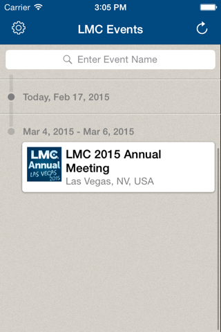 LMC Event App screenshot 2
