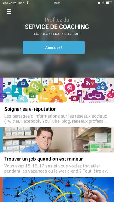 Objectif Emploi Orientation screenshot two