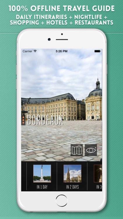 Bordeaux Travel City Guide & Offline Map