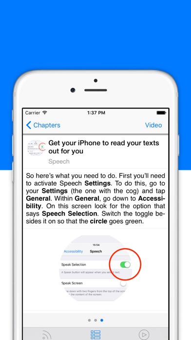 トリック&ティップス –iPhone & iPadのスクリーンショット2